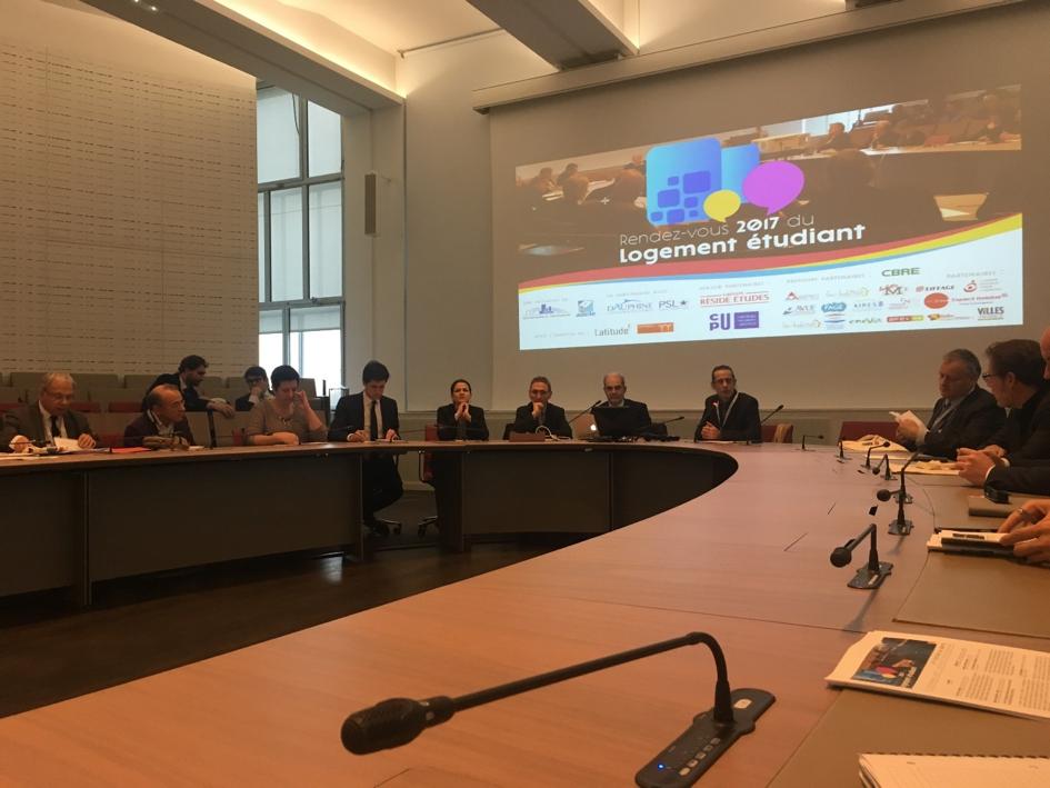Open Partners participe au Rendez-vous du logement étudiant 2017 à Dauphine à Paris